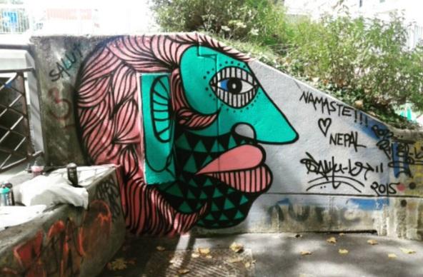 Urban Kancha (2016), Geneva (Switzerland).