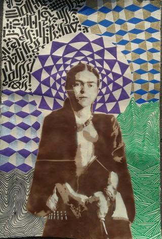 Frida (2016), mixed media
