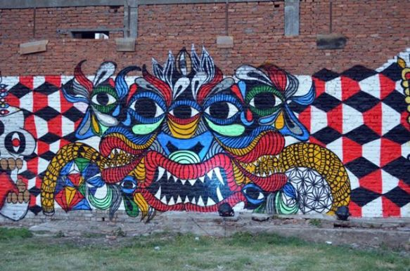 Composition (2014) , Kathmandu (Nepal).