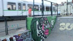 Urban Kancha (2015), Nantes (France).