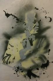 Miles Davis (2015), stencil.